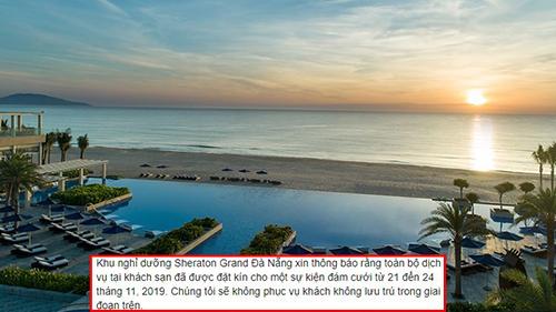 Resort 5 sao ở Đà Nẵng từ chối phục vụ khách du lịch vì 'siêu đám cưới' con gái của tỷ phú Ấn Độ
