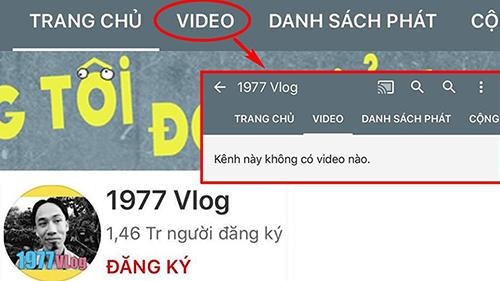 Thứ 6 ngày 13 đen tối, toàn bộ video của 1977 Vlog đột nhiên biến mất, chủ nhân hoang mang không rõ lý do
