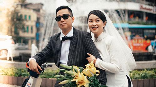 Trọn bộ ảnh cưới theo phong cách Hà Nội những năm 80 của hot girl Mi Vân và bạn trai 5 năm