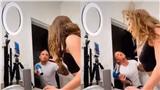 Vợ muốn quay clip đăng TikTok và màn tấu hài bằng máy sấy của chồng: Cuộc đời chỉ cần một người điên khùng cùng mình cũng thấy hạnh phúc!