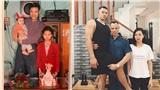 Bức ảnh gia đình 24 năm trước - sau: Con dù cao lớn đến đâu vẫn mãi là con của bố