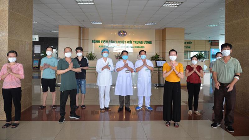 Công bố thêm 8 ca Covid-19 được chữa khỏi, 90% ca nhiễm tại Việt Nam đã bình phục