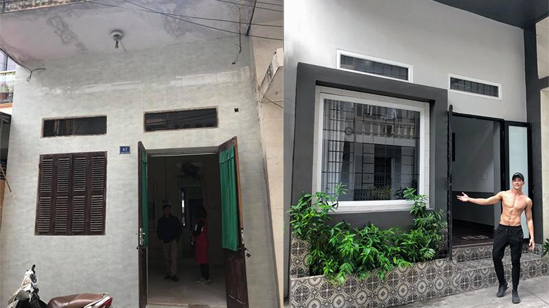 Mạnh tay chi 150 triệu đồng để tự cải tạo ngôi nhà cũ cho bố mẹ, trai đẹp Hải Dương được khen ngợi hết lời