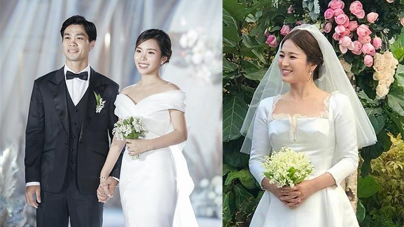 Bí mật bó hoa nhỏ xinh vợ Công Phượng cầm trong lễ đính hôn: Giá hàng chục triệu, đúng loại Song Hye Kyo lựa chọn