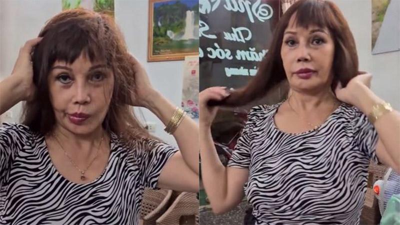 Sau 'dao kéo' níu giữ tuổi xuân, 'cô dâu 62 tuổi' lộ diện khuôn miệng méo mó, gương mặt biến dạng không thể nhận ra