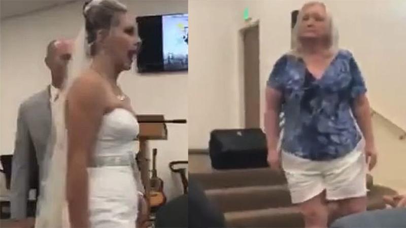 Cả hội trường nín thở khi mẹ chồng - nàng dâu cãi nhau tay đôi ngay trong hôn lễ, chú rể bất lực cúi gầm mặt