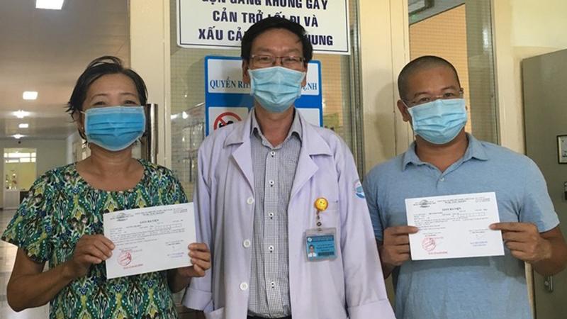 Hai bệnh nhân điều trị ở TP.HCM nhiễm Covid-19 liên quan đến Đà Nẵng đã xuất viện
