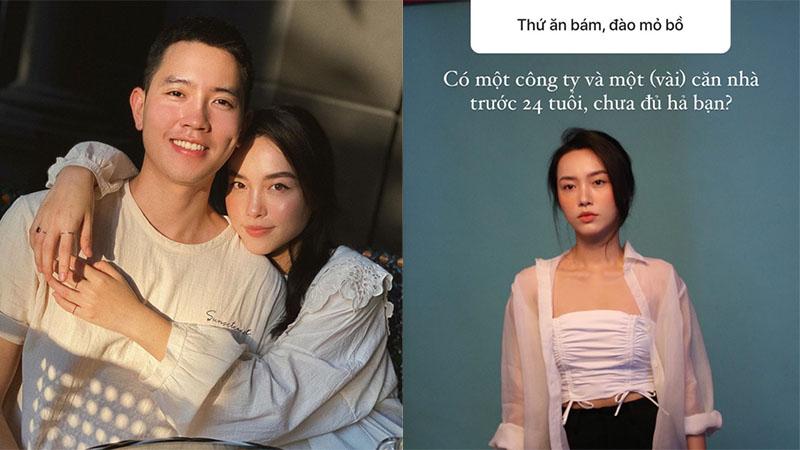 Bị antifan chỉ trích 'ăn bám' cơ trưởng Quang Đạt, nữ blogger Hà Trúc khẳng định 24 tuổi có vài cái nhà 'sương sương'