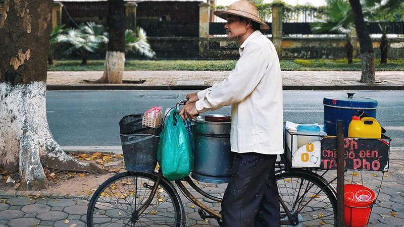 Chiếc xe đạp tào phớ - Ước mơ tuổi thơ sống lại trong ký ức của bao người dân Hà Nội