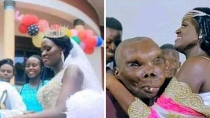 Nhan sắc vợ 3 vừa cưới của 'người đàn ông xấu nhất thế giới' khiến tất cả bất ngờ