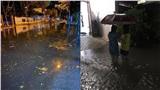 Ảnh hưởng của bão số 5, Đà Nẵng - Huế nhiều tuyến phố ngập trong biển nước