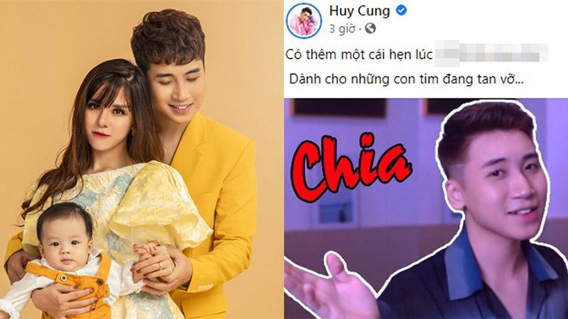 Sau 2 năm về chung nhà, vlogger Huy Cung xuất hiện nghi vấn ly hôn với hot girl trường Báo