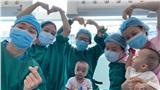 Sau 3 tháng phẫu thuật tách rời, 2 bé Diệu Nhi - Trúc Nhi sắp được xuất viện
