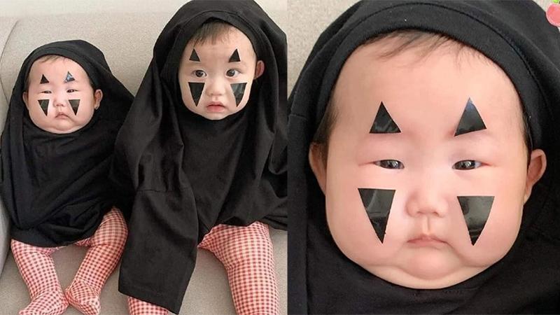 Trước ngày Halloween, Vô Diện phiên bản 'ú ù u' đang khiến cộng đồng mạng 'dậy sóng' bởi chiếc má phúng phính dễ thương