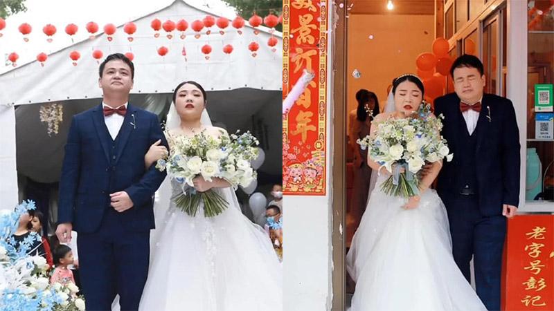 Thuê đúng tình cũ chụp ảnh cho ngày cưới, cô dâu chú rể nhận về bộ ảnh 'hết hồn'