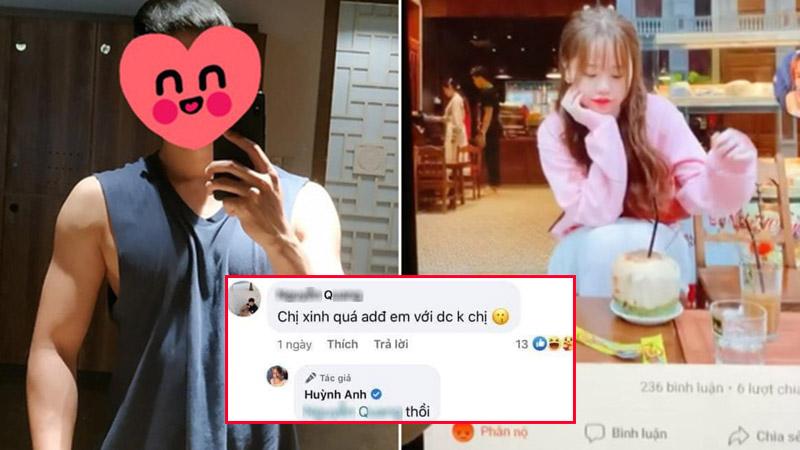 Loạt bằng chứng Huỳnh Anh và chàng trai bị tố 'cắm sừng' liên tục thả 'phẫn nộ' vào ảnh của nhau trên Facebook