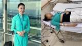 Sau 1 năm, nữ tiếp viên hàng không bị lái xe Mercedes 'điên' tông trực diện: Nằm bất động với thương tật vĩnh viễn 75%