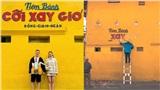 Dân mạng chia sẻ hình ảnh bức tường Cối Xay Gió đang bị xóa chữ, đếm ngược chỉ còn 4 ngày nữa thôi...