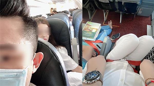 Suốt 2 tiếng bay không được ngả ghế nằm vì chị gái xinh hàng dưới 'không cho', chàng trai 1m8 bức xúc xả giận