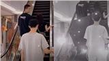 Bạn gái mặc váy ngắn khi lên thang máy, anh chàng người yêu bật ngay ô để che khiến dân mạng cảm thán 'làm màu'