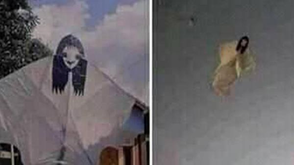 Làm xong con diều thả được 1 lúc cả xóm xúm vào chửi, nhìn hình ảnh trên cao mới hiểu lý do vì sao!
