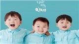 Bộ ba nhóc tì nổi tiếng Daehan Minguk Manse chững chạc trong buổi tốt nghiệp mẫu giáo