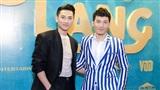 Isaac điển trai xuất hiện cùng Liên Bỉnh Phát và Ngô Thanh Vân tại buổi ra mắt Song Lang