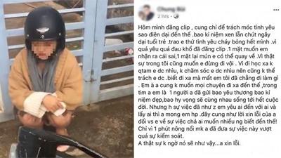 Chàng trai bị người yêu 5 năm 'cắm sừng' bất ngờ lên tiếng xin lỗi và chúc bạn gái cũ hạnh phúc