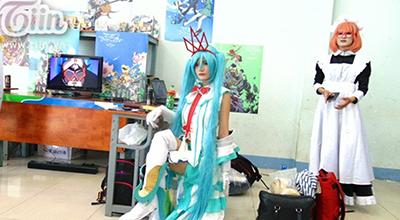 Hàng ngàn fan truyện tranh Nhật Bản hóa thần tượng của mình tại lễ hội cosplay độc nhất tại TP HCM