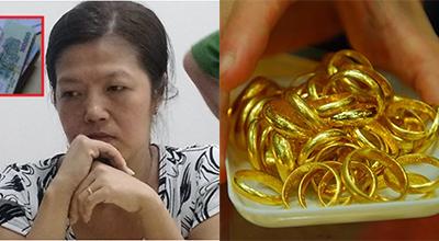 'Nữ quái' trộm 100 lượng vàng rồi tung tin trúng số độc đắc