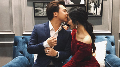 Hòa Minzy hạnh phúc trong ngày sinh nhật bên bạn trai doanh nhân