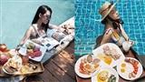 Trào lưu hưởng thụ bên hồ bơi cực sang chảnh của hội con nhà giàu Việt