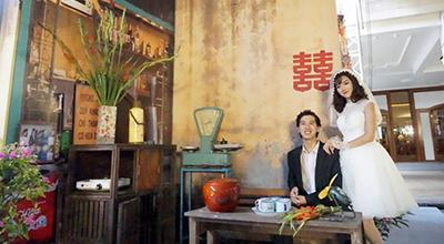 Quay ngược thời gian về thời bao cấp, trải nghiệm đám cưới giản dị mà siêu tình giữa phố Hà Nội