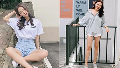Quần shorts thì ai cũng mặc nhưng bí kíp để chọn được kiểu quần 'nịnh dáng' nhất thì không phải ai cũng biết