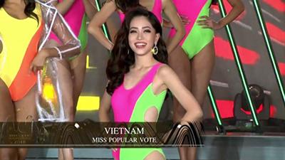Phương Nga khoe trọn body nóng bỏng trong màn nhảy bikini sexy tại Miss Grand International 2018