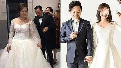 Bị đồn 'cưới chạy bầu', vợ rapper Tiến Đạt đáp trả khôn ngoan