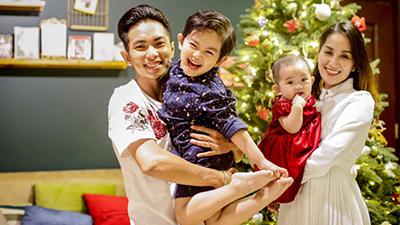 Phan Hiển dí dỏm nhắn gửi Khánh Thi: 'Mình hợp tác làm đứa nữa nha'