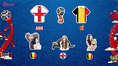 Sở thú WC 2018: Những dự đoán về trận tranh hạng 3 giữa Bỉ và Anh