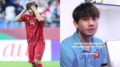 Minh Vương sút hỏng quả penalty, Xuân Trường an ủi 'Anh chỉ làm cho trận đấu thêm phần kịch tính tí thôi'