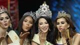 Dàn sao chúc mừng Phương Khánh đăng quang Hoa hậu Trái đất 2018