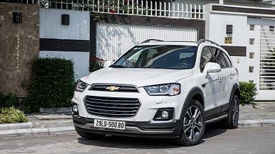 Chevrolet Captiva 2016 - Crossover thương hiệu Mỹ