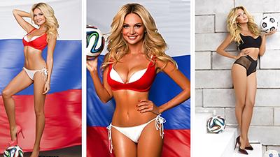 'Nóng bỏng mắt' với thân hình của đại sứ World Cup đẹp và quyến rũ nhất lịch sử