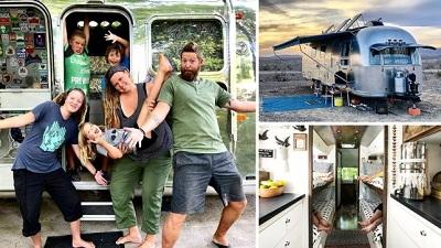 Gia đình 6 người chu du khắp nước Mỹ trong vòng 3 năm chỉ với một 'xế hộp' nhỏ gọn