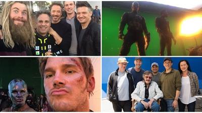 Avengers: Endgame: Lệnh cấm spoil vừa hết hiệu lực, dàn siêu anh hùng 'bung lụa' tung cảnh hậu trường 'nhắng nhít'