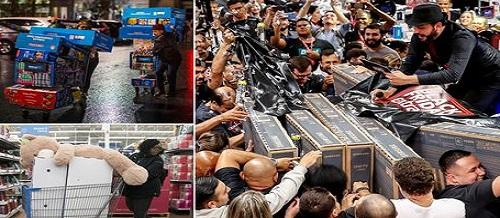 Black Friday trên thế giới: Dân tình đua nhau mua sắm, cảnh tượng hỗn loạn kinh hoàng, nhiều người ngất xỉu