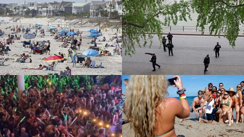 Những kẻ phớt lờ lệnh cách ly: Tổ chức tiệc 'Corona', giả vờ ho vào người già, tụ tập tắm biển, nghe nhạc