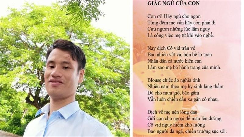 Tác giả bài thơ 'Giấc ngủ của con': Thầy giáo trẻ mong một lần đến thăm Đà Nẵng