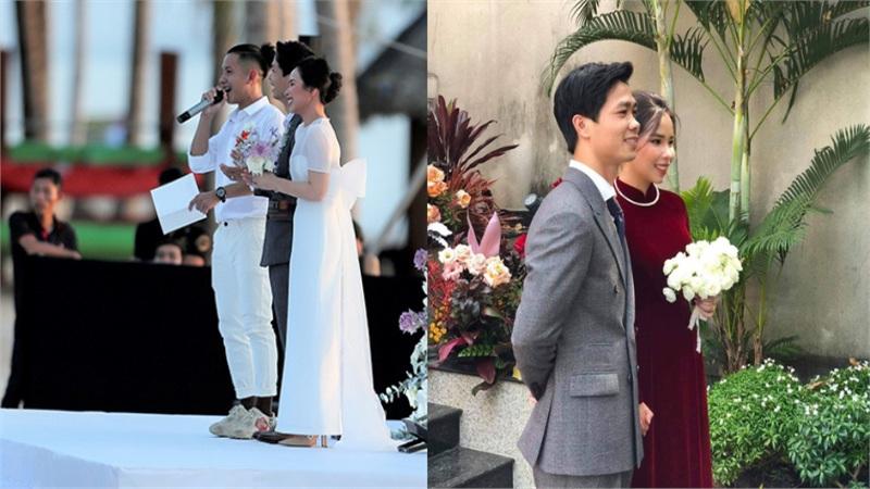 Áo vest của chú rể Công Phượng trong đám cưới ở Phú Quốc đã được mặc hôm xin dâu?