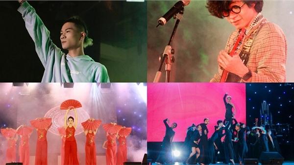 Ngọt, GTM cháy hết mình cùng sinh viên trường Báo trong Đại nhạc hội 'Nhật ký 20 – 2020: AMAZE'