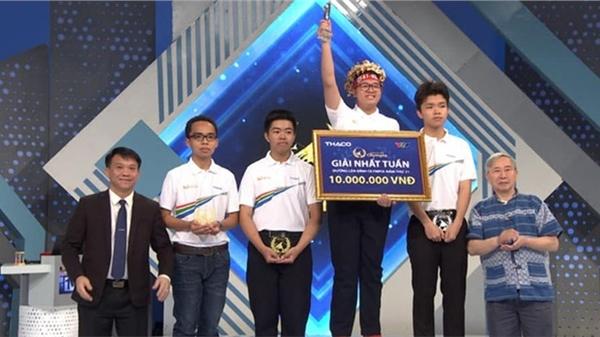 Nam sinh Hà Nội ghi tên mình vào danh sách kỷ lục gia tại Đường lên đỉnh Olympia